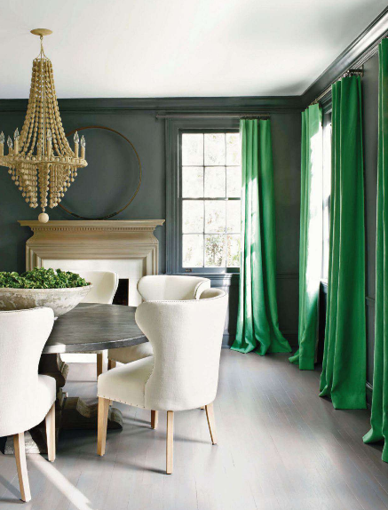 You Can Also Go Bold By Pairing Emerald Home Accents With Furniture Or An Accent Wall In The Same Hue