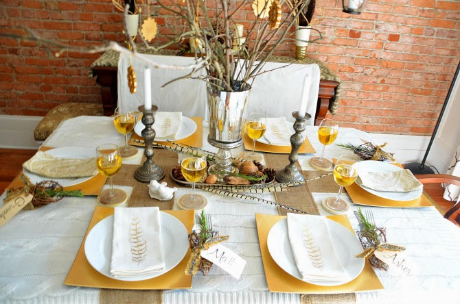 Thanksgiving table setting archives belle and june for Elegant table setting for thanksgiving