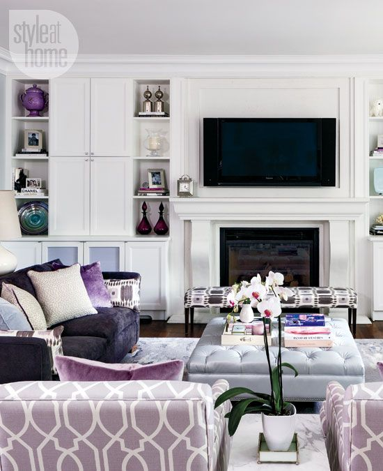 Eye For Design Grey Interiors Refined And Sophisticated: How MAUVE-U-LOUS!!!