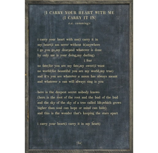 The Poetry Collection - I Carry Your Heart