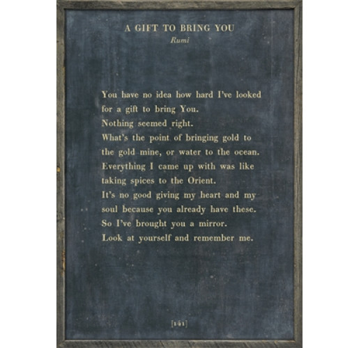 The Poetry Collection - A Gift To Bring You Art Print