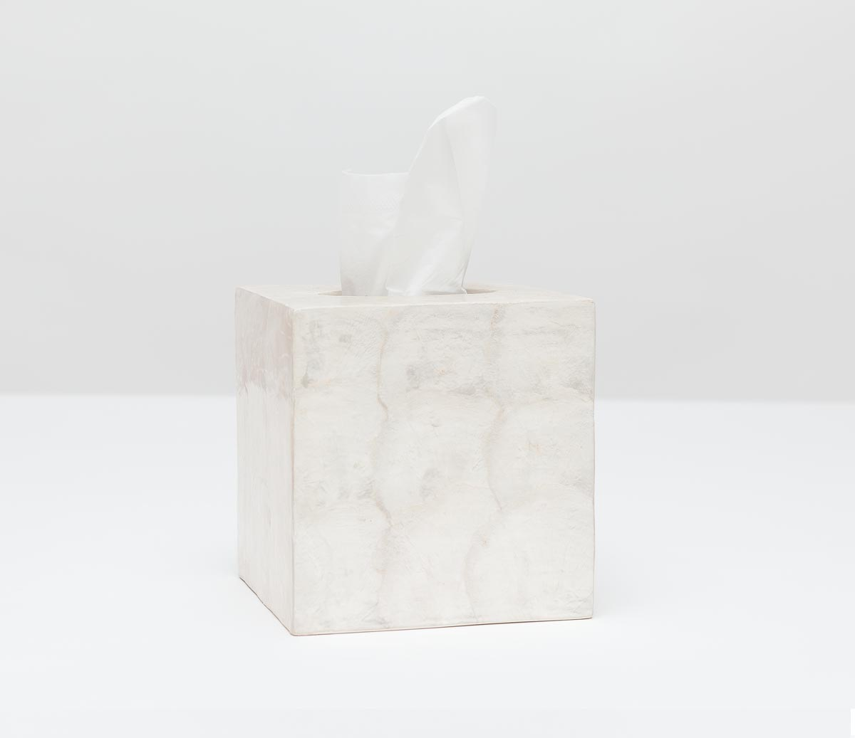 Andria Tissue Box - Pearlized Color