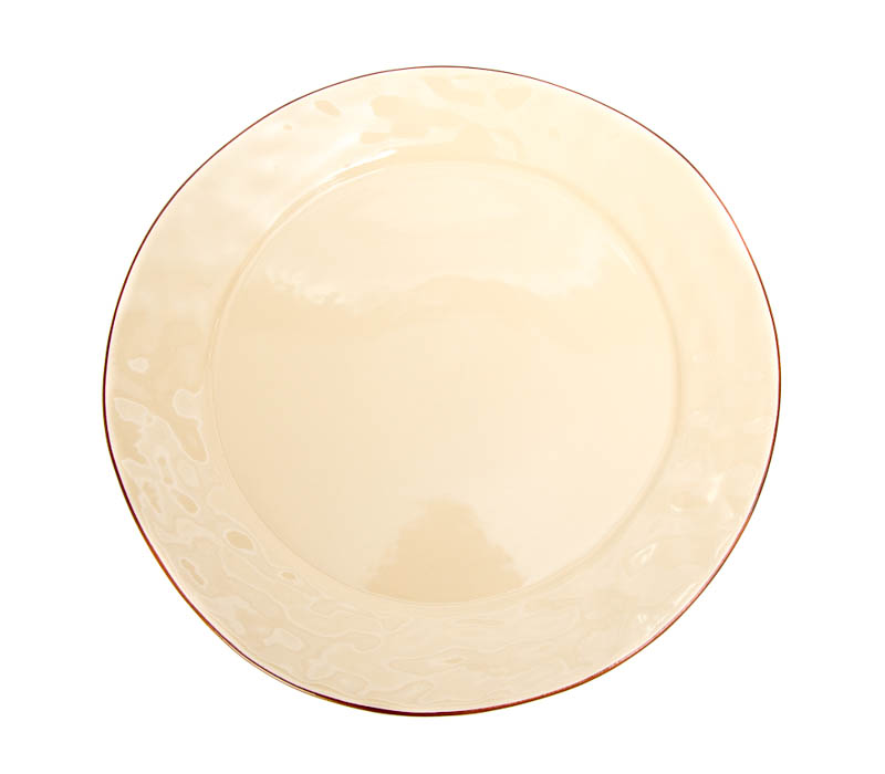 Cantaria Charger Plate by Skyros Designs - Almost Yellow