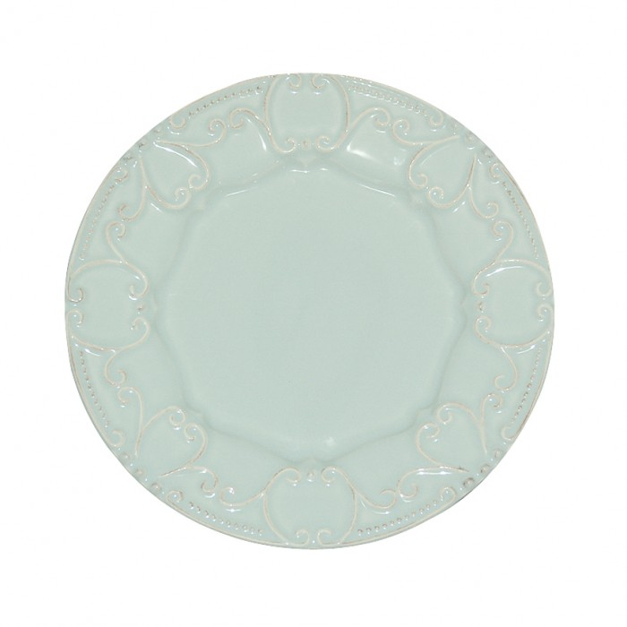 Skyros Designs Isabella Salad Plate Ice Blue
