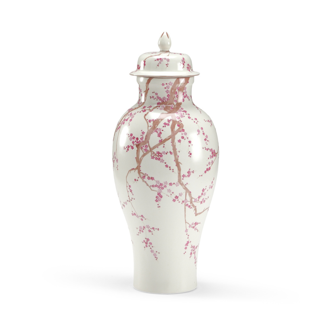 Cherry Blossom Temple Jar