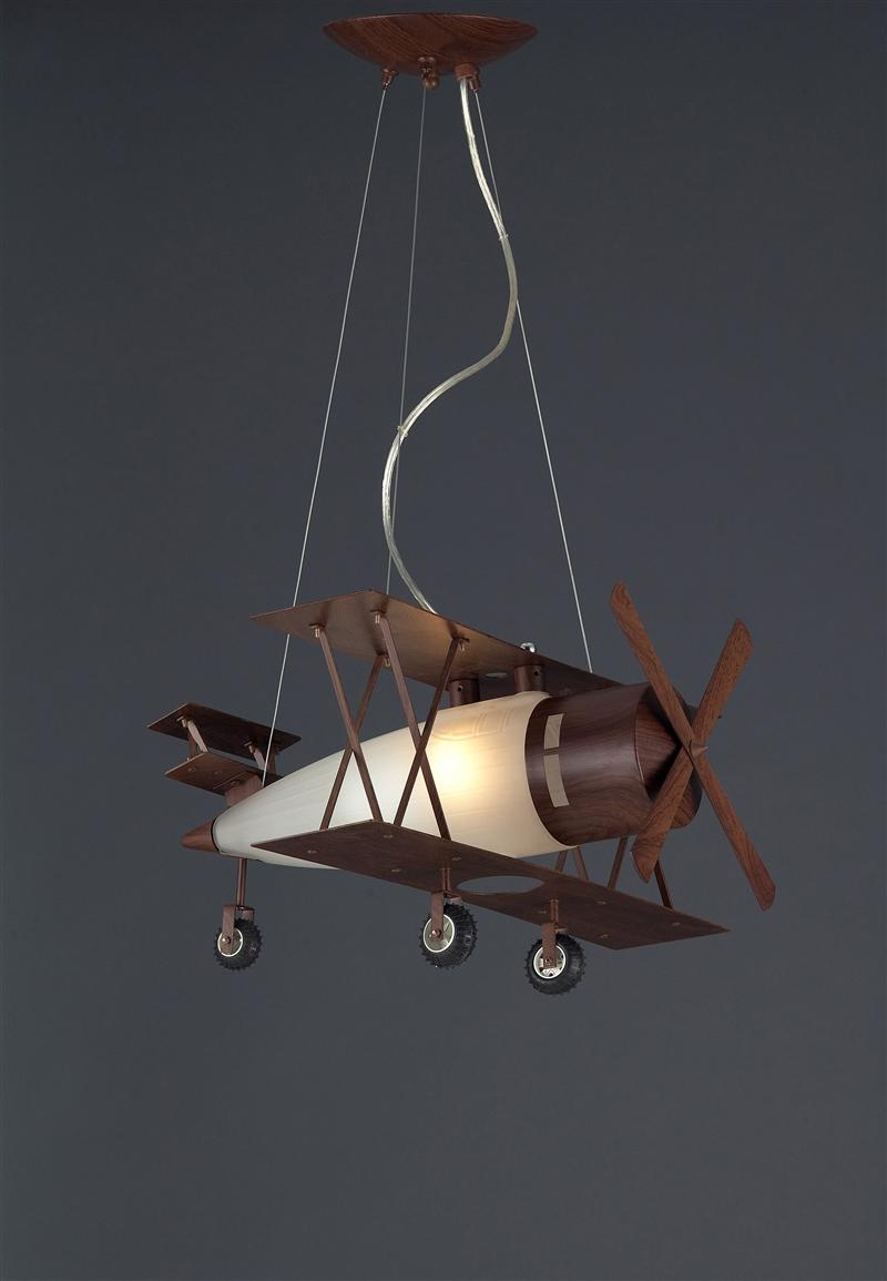 Plane Ceiling Fixture, Silver Finish