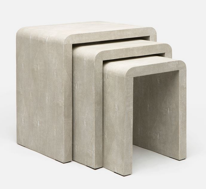 Harlow Sand Nesting Tables