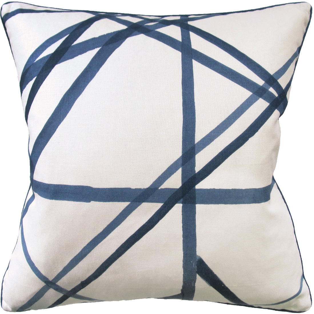 Channels Periwinkle Decorative Pillow