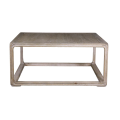 Belle and June Home Square Reclaimed Wood Coffee Table