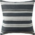 Entonto Grey Striped Decorative Pillow