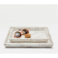 Cortona Silver and Shell Tray Set