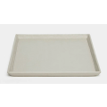 Marcel Light Gray Vanity Tray Set of 2