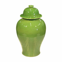 Lime Temple Jar