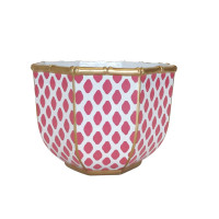Bamboo Bowl in Parsi Pink