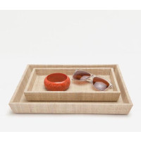 Ghent Nesting Trays - Natural (Set Of 2)