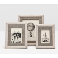 Kent Picture Frames - Gray Hair-On-Hide
