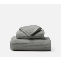 Venice Gray Bath Towels from belleandjune.com | Towels