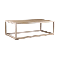 Belle and June Home Rectangular Reclaimed Wood Coffee Table