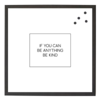Petal Lane If you can be Anything Magnet Board from belleandjune.com | magnet board