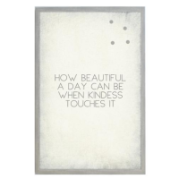 How Beautiful a Day Vintage Magnet Board from belleandjune.com | magnet board