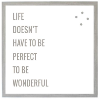 Petal Lane Life Wonderful Magnet Board from belleandjune.com | magnet board