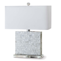 Bliss Mother of Pearl Table Lamp from belleandjune.com