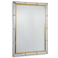 Plaza Beveled Mirror from belleandjune.com | Console Table