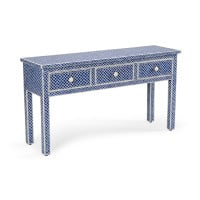 New London Console - Blue from belleandjune.com | Furniture
