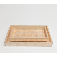 Andria Nesting Trays - Smoked (Set of 2)