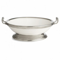 Arte Italica Tuscan Footed Bowl with Handles