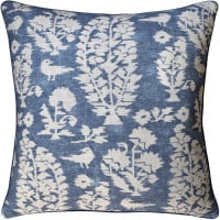 Buy Allaire Slate Blue Decorative Pillow from belleandjune,com | Decorative Pillows