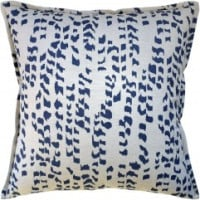 Buy Animal Spot Blue Decorative Pillow from belleandjune,com | Decorative Pillows