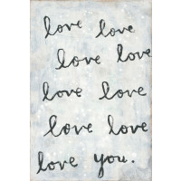 Whole Lotta Love Art Print  from belleandjune.com | Wall Decor