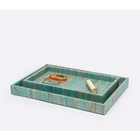 Bali Tray Set - Aqua Color