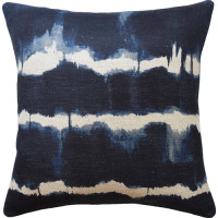 Baturi Indigo Decorative Pillow from belleandjune.com | decorative pillows