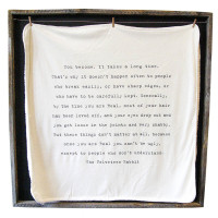 The Velveteen Rabbit Blanket from belleandjune.com | Throw Blankets