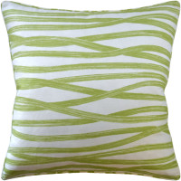 Buy Brushstrokes Leaf Decorative Pillow from belleandjune.com | Decorative Pillows