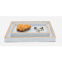 Manchester Cloud Gray Tray Set