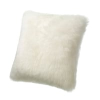 Square Sheepskin Wool Cushion