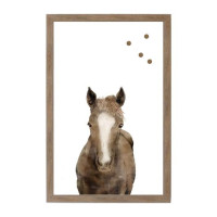 Farm House Horse Magnet Board