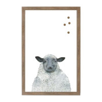 Farm House Sheep Magnet Board
