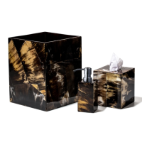 Horn Veneer Bathroom Set