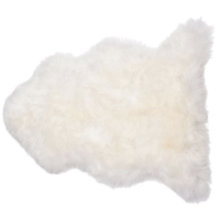 Longwood Natural Shaped 2' x 3' Sheepskin Rug