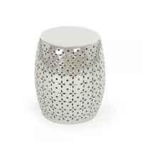 Grey Lovell Garden Stool
