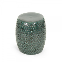 Teal Lovell Garden Stool