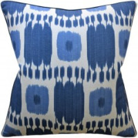 Buy Kandira Blue Decorative Pillow from belleandjune,com | Decorative Pillows