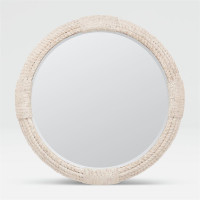 Alexander Whitewashed Mirror from belleandjune.com | mirrors