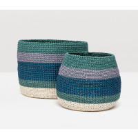 Samal Storage Baskets - Green Combo (Set of 2)