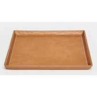 Marcel Aged Camel Vanity Tray Set of 2