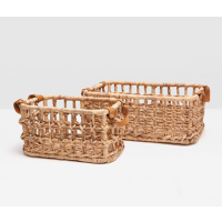 Somerset Natural Baskets from belleandjune.com | Baskets and Storage